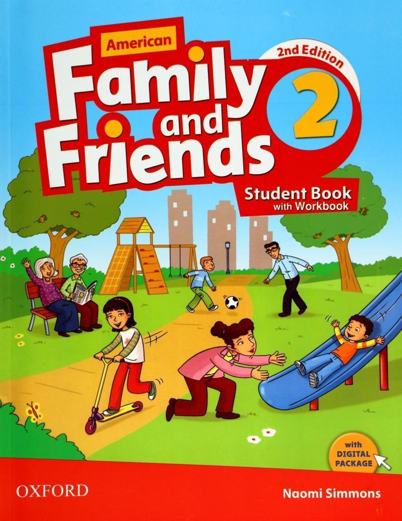کتاب فمیلی اند فرندز 2 | Family and Friends 2