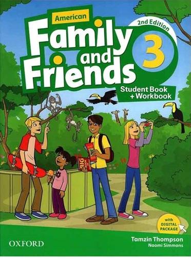 کتاب فمیلی اند فرندز 3 | Family and Friends 3